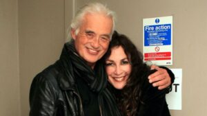 With Jimmy Page